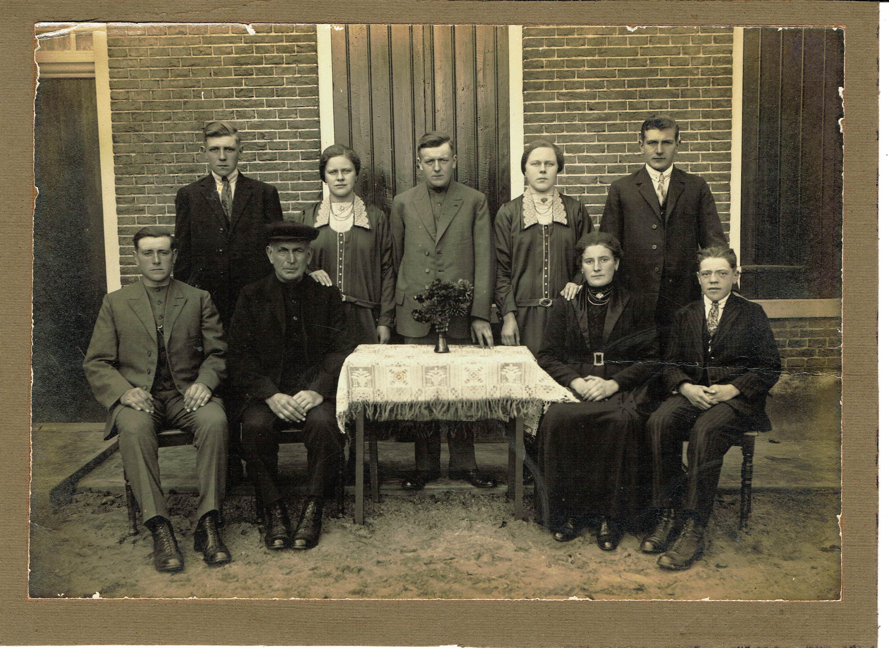 Fam Haverkamp voor 1935